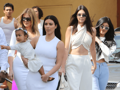Kendall Jenner goes to church in crop top after posting naked Easter pic on Instagram
