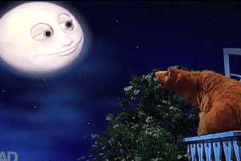 Bear In The Big Blue House meets Game Of Thrones in this seriously disturbing mash-up
