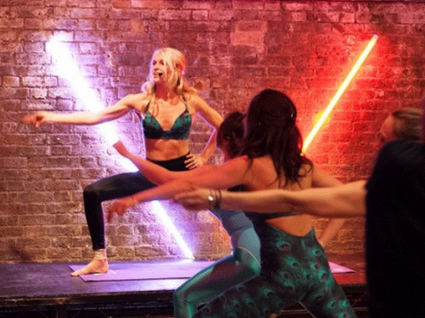 Strike a pose with new exercise trend Voga: a mix of Voguing and Yoga