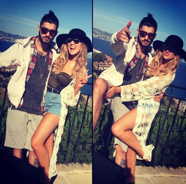 Zayn Malik and Perrie Edwards continue to share The Story of Their Life together on Instagram during sunshine break
