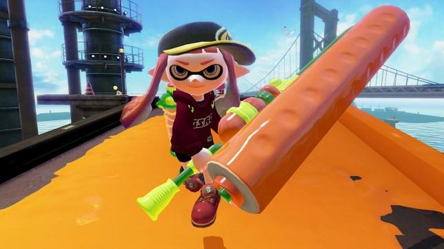 Splatoon (Wii U) - Nintendo's first online shooter