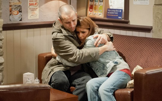 FROM ITV STRICT EMBARGO -TV Listings Magazines & websites Tuesday 12 May 2015, Newspapers Saturday 16 May 2015  Emmerdale - Ep 7187 Wednesday 20 May 2015  Sam Dingle [JAMES HOOTON] covers where he got his injury and a guilty Rachel Breckle [GEMMA OATEN] apologises to Sam for her actions. Picture contact: david.crook@itv.com on 0161 952 6214 Photographer - Amy Brammall This photograph is (C) ITV Plc and can only be reproduced for editorial purposes directly in connection with the programme or event mentioned above, or ITV plc. Once made available by ITV plc Picture Desk, this photograph can be reproduced once only up until the transmission [TX] date and no reproduction fee will be charged. Any subsequent usage may incur a fee. This photograph must not be manipulated [excluding basic cropping] in a manner which alters the visual appearance of the person photographed deemed detrimental or inappropriate by ITV plc Picture Desk. This photograph must not be syndicated to any other company, publication or website, or permanently archived, without the express written permission of ITV Plc Picture Desk. Full Terms and conditions are available on the website www.itvpictures.com