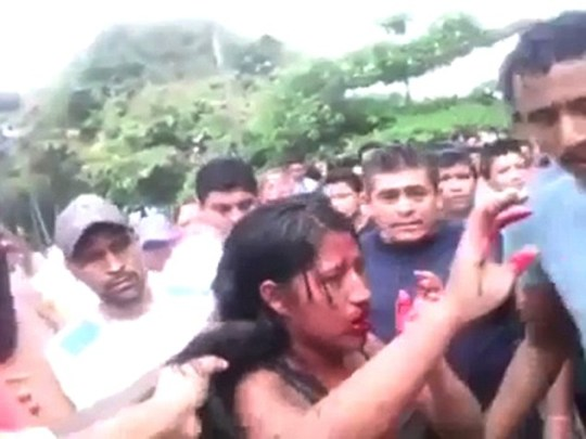 Girl, 16, beaten and burned to death by mob for 'involvement