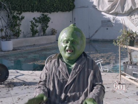 You'll never guess which A-List celeb this is dressed as a lime for new ad