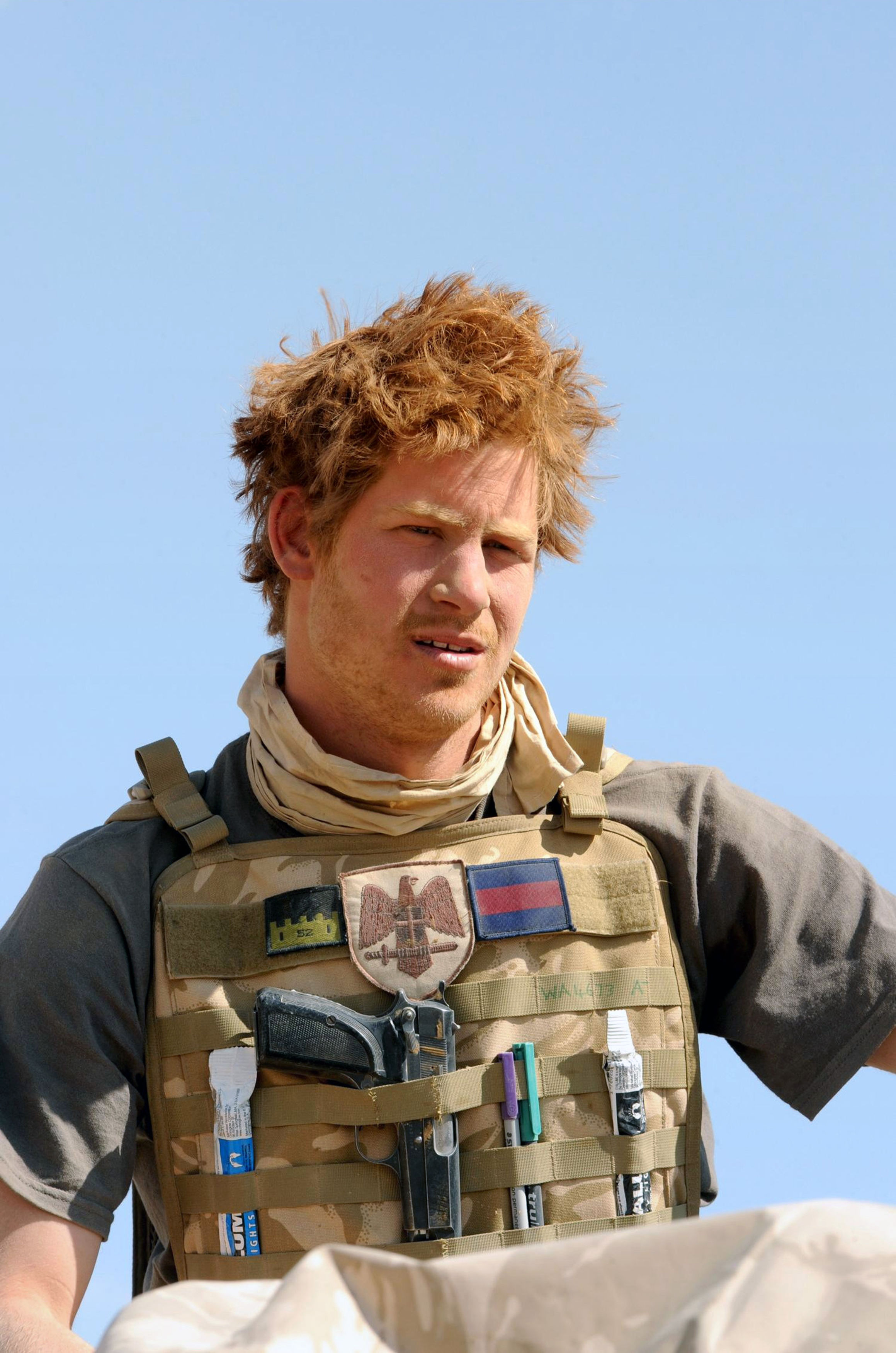 Prince Harry has credited the Army for keeping him out of trouble (Picture: PA)