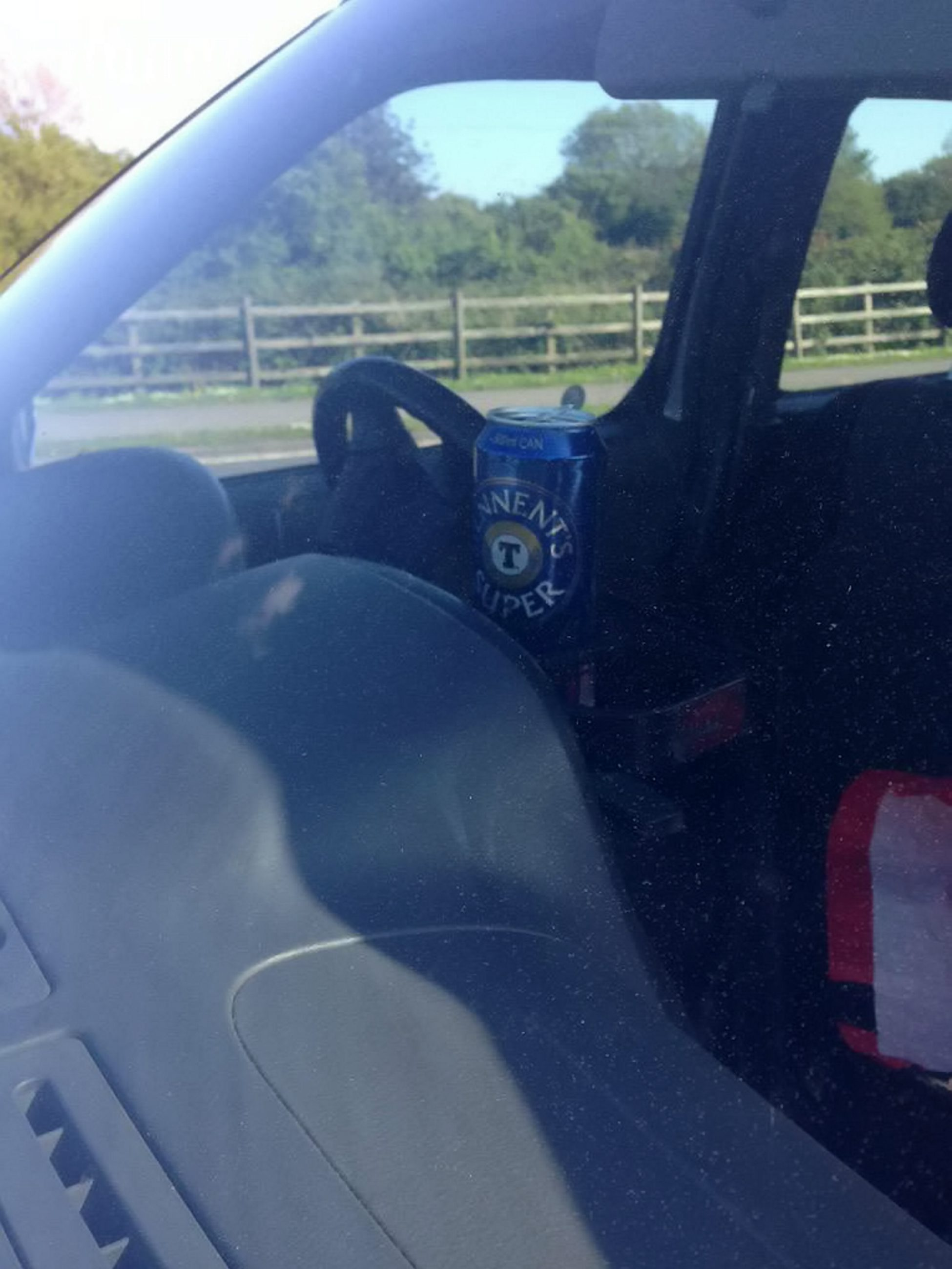 A man has been charged with drink-driving after police found him nearly twice the limit ñ with a can of TENNENTíS SUPER in his cup holder. See SWNS story SWDRUNK;  Police pulled the dopey driverís Nissan over after receiving a tip-off from a member of the public that he was drink-driving on Saturday afternoon. When police caught up with him in Eastbourne, East Sussex, they discovered the super strength, 9 per cent lager beside his steering wheel. The man in his 60s was arrested and charged after a breathalyser revealed he was nearly double the legal limit to drive.