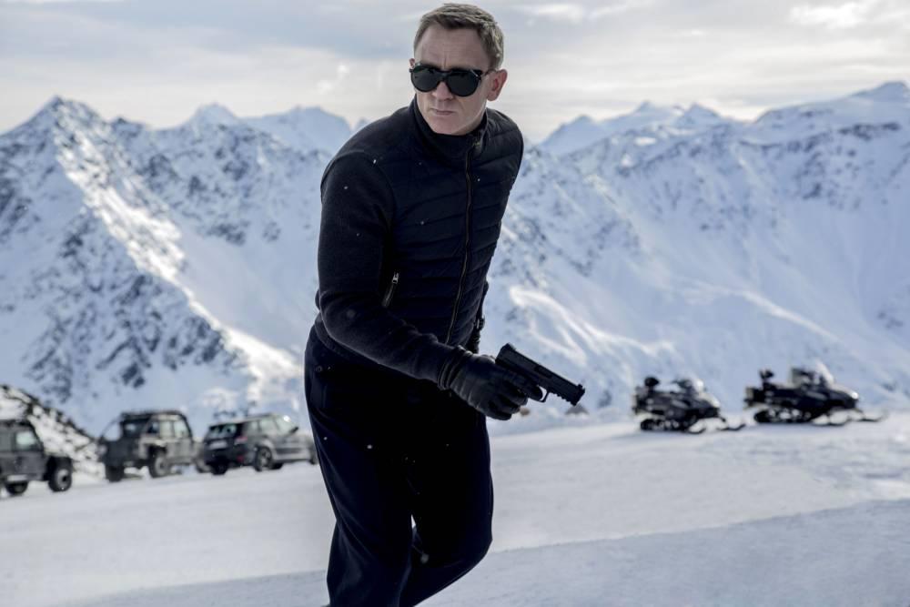 Spectre (2015), with Daniel Craig as James Bond