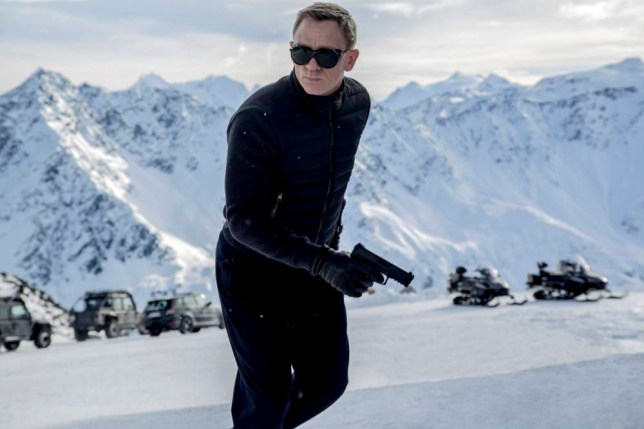 Spectre (2015), with Daniel Craig as James Bond