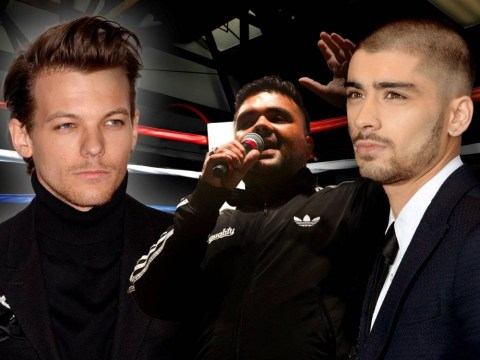 One Direction at WAR! Zayn Malik takes down Louis Tomlinson in the most dramatic way during full-on Twitter spat with Naughty Boy