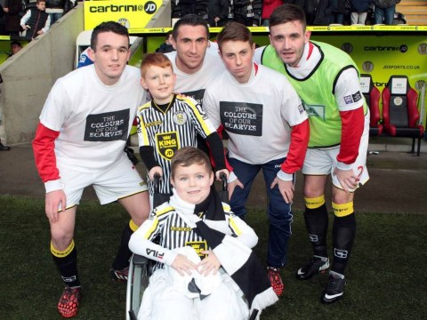 St. Mirren fans vote to make six-year-old cancer sufferer Aaron Woodall their player of the year