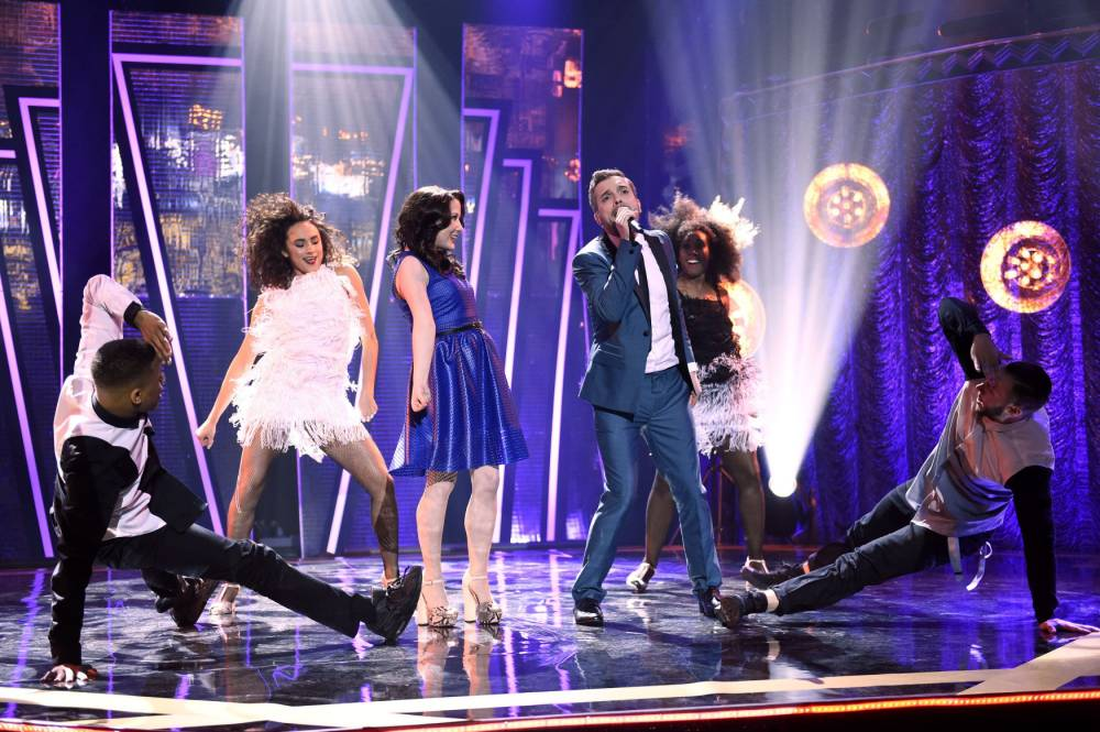 Eurovision hopefuls Electro Velvet divide Graham Norton viewers as they perform entry Still In Love With You