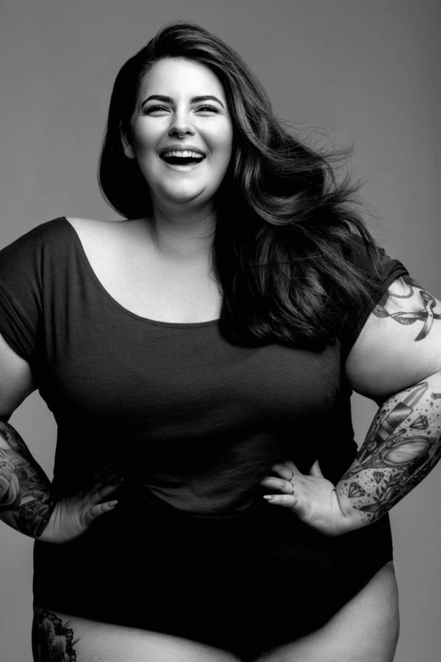 41459830a81 Plus-size model Tess Holliday argues  there is no ONE way to be beautiful