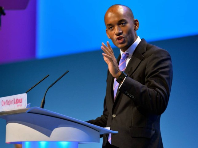 Shadow Secretary of State for Business, Innovation and Skills Chuka Umunna. Labour Party annual conference at the Brighton Centre, East Sussex.