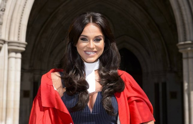 Mandatory Credit: Photo by Jonathan Hordle/REX Shutterstock (4770704k)  Vicky Pattison  Vicky Pattison launches Judge Geordie at Royal Courts of Justice, London, Britain - 13 May 2015
