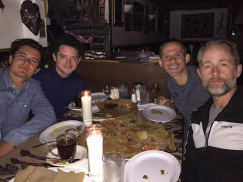 Dominic Monaghan had another reunion with his Lord Of The Rings co-stars and we can't stop smiling