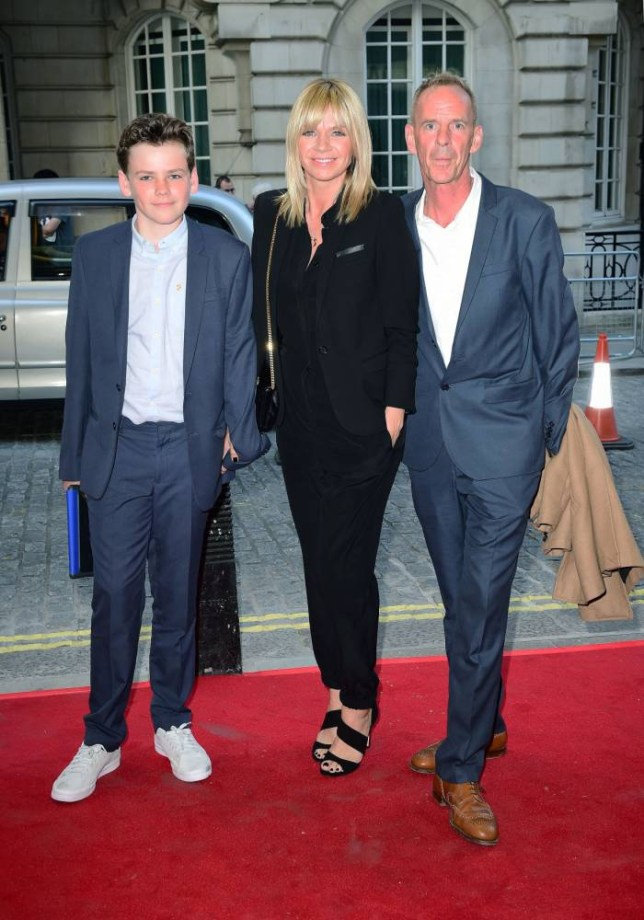 (Left to right) Woody Cook, Zoe Ball and Norman Cook attending the Man Up UK gala screening at the Curzon Mayfair, London. PRESS ASSOCIATION Photo. Picture date: Wednesday May 13, 2015. Photo credit should read: Ian West/PA Wire