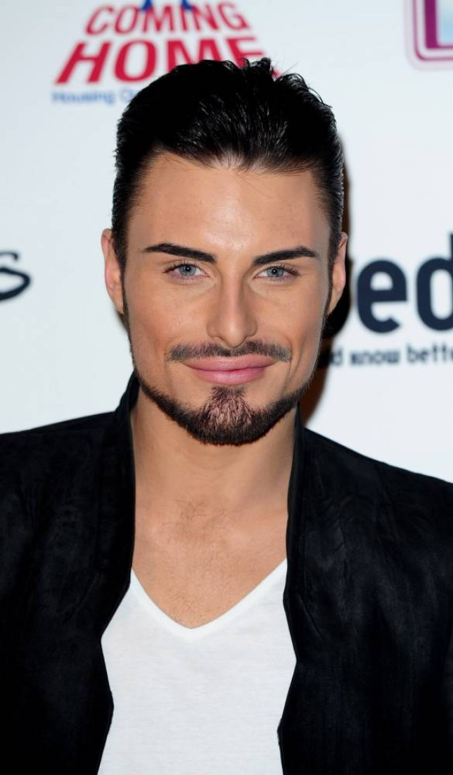 File photo dated 7/3/2013 of Rylan Clark who is heading into the kitchen to take part in the new series of Celebrity MasterChef. PRESS ASSOCIATION Photo. Issue date: Thursday May 14, 2015. The star, who shot to fame in The X Factor before winning Celebrity Big Brother and now co-hosting the show, will be joined by famous faces including Keith Chegwin, Chesney Hawkes and Girls Aloud star Sarah Harding. See PA story SHOWBIZ MasterChef. Photo credit should read: Ian West/PA Wire