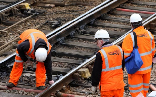 There could be a problem with bendy railway lines