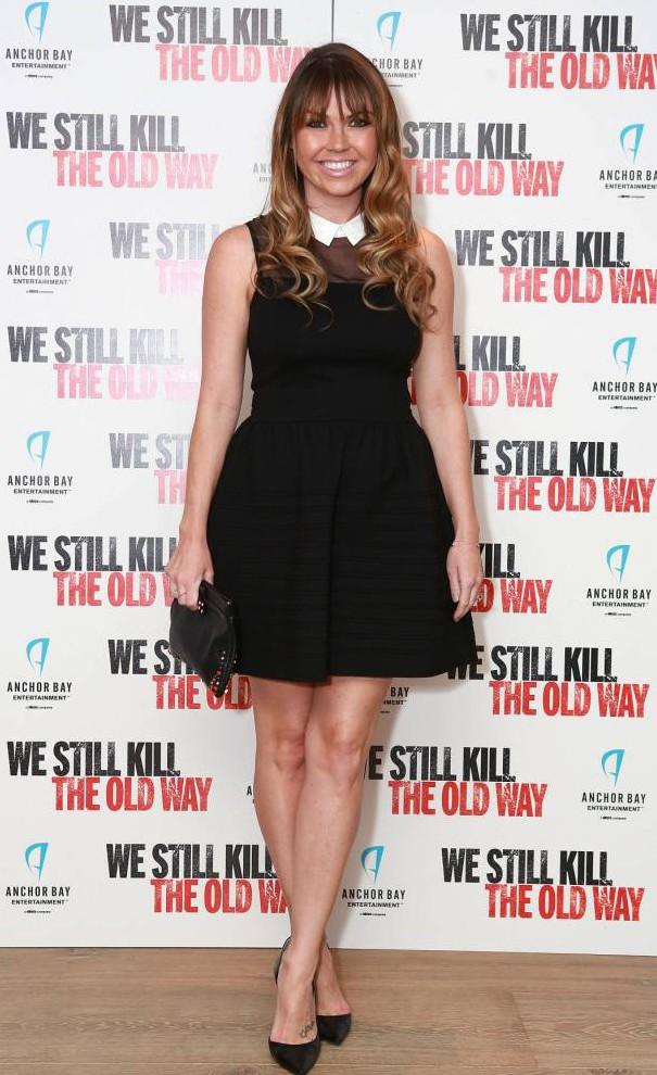 Mandatory Credit: Photo by James Shaw/REX_Shutterstock (4132662l).. Adele Silva.. 'We Still Killl The Old Way' film screening, London, Britain - 29 Sep 2014.. ..