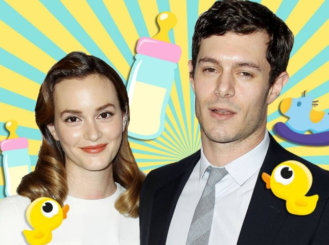 Gossip Girl's blair waldorf and The Oc's seth cohen. Leighton Meester and Adam Brody comp.