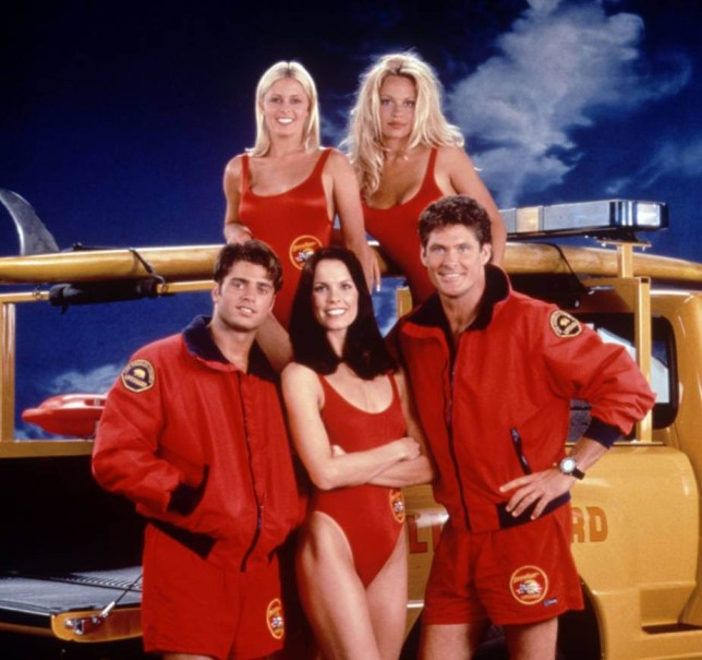 EDITORIAL USE ONLY / NO MERCHANDISING Mandatory Credit: Photo by Ltd/REX_Shutterstock (834546bb) 'Baywatch' TV - Cast. Fremantle Archive