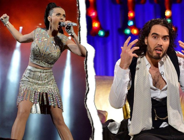 Katy Perry and Russell Brand split  Source: Metro/Getty Images