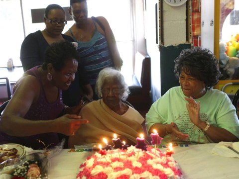 The secret to long life? There isn't one, says woman who turned 116 yesterday