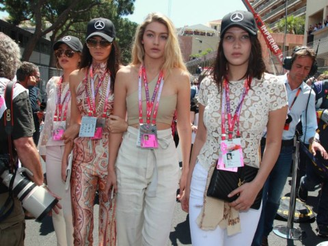 There seemed to be more celebrities than race car drivers at Monaco Grand Prix