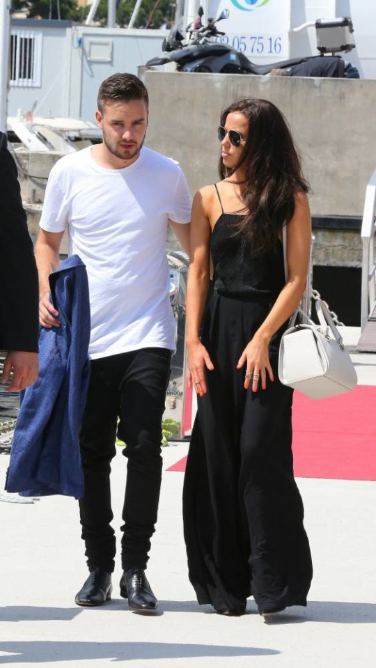 May 24, 2015: Liam Payne of One Direction, shows some PDA, holds hands with girlfriend Sophia Smith during the 2015 F1 Monaco Grand Prix in Monte Carlo, Monaco. Mandatory Credit: INFphoto.com Ref: inffr-01/197314