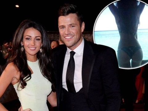 Mark Wright introduces 'Mrs Wright' to the world with sexy honeymoon picture of a bikini-clad Michelle Keegan