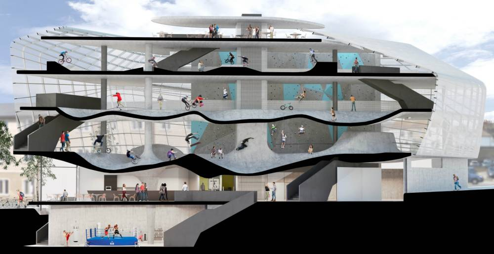 This multi-storey skatepark is a dream come true
