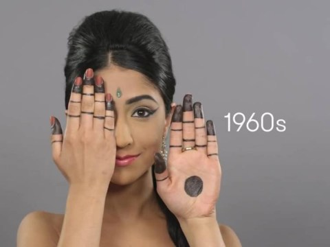 Watch 100 years of beauty in India – from the 1910s to the 2000s – in 90 seconds
