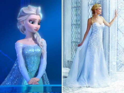 Designer unveils amazing wedding dress collection inspired by Disney princess costumes