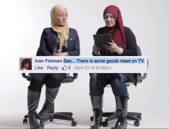 muslim women.jpg Muslims Read Hate Comments  A daycare at the mosque burnt down. People commented their thoughts. You won't believe the reaction to this tragedy.