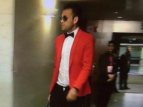 Barcelona's Dani Alves rocks up in outrageous getup for Champions League match with Bayern Munich
