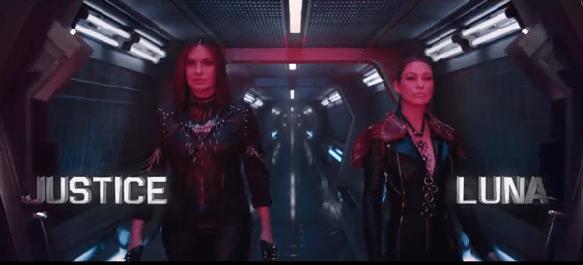 Mariska Hargitay and Ellen Pompeo appear in Taylor Swift's Bad Blood music video
