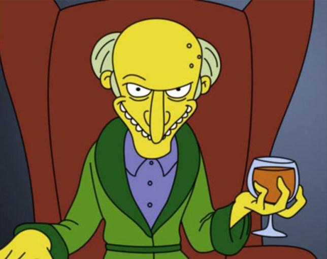Mr Burns - Simpsons