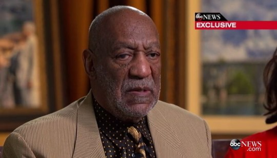 Bill Cosby speaks out (Picture: ABC)