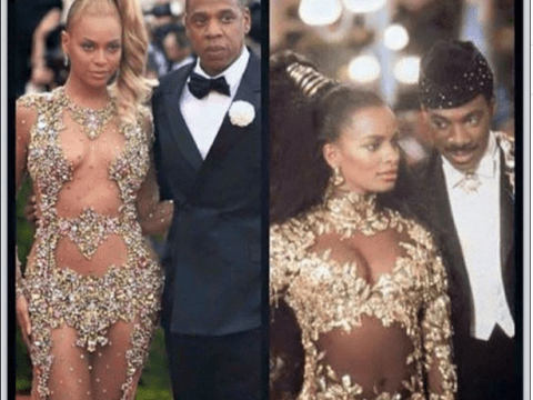 Beyonce and Jay Z at the Met Gala look EXACTLY like the Coming To America couple