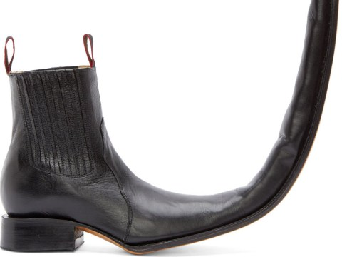 These Comme des Garçons boots: There are NO words