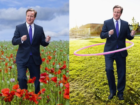 David Cameron skipping gets the photoshop treatment – you're welcome