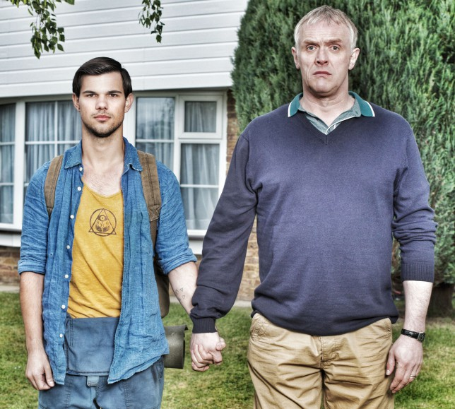 Taylor Lautner in Cuckoo (Picture: BBC Pictures)