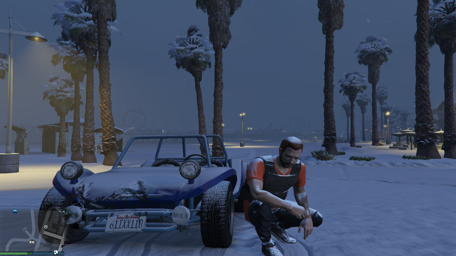 Some GTA V mods are snow joke