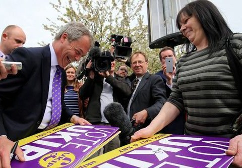 There's an events company that keeps getting confused with Ukip