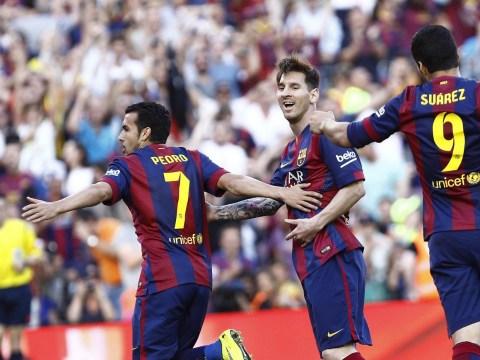Pedro Rodriguez scores SUPERB overhead kick in Barcelona's La Liga win over Real Sociedad