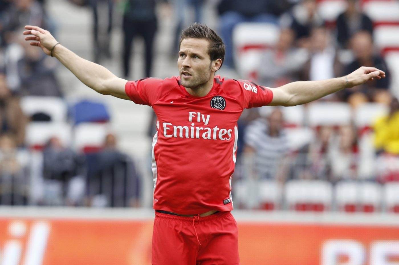 Liverpool 'join race to seal £10million transfer of Paris St Germain midfielder Yohan Cabaye'