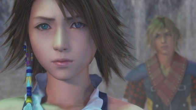 Final Fantasy X|X-2 HD Remaster (PS4) - this is a cut scene, obviously
