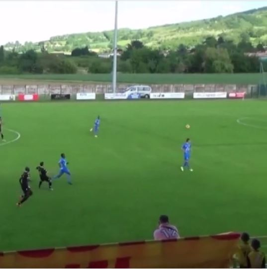 Ex-Barcelona star Ludovic Giuly proves he's still got it with superb long-range lob in amateur game