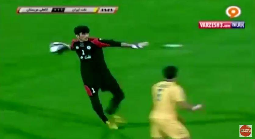 Alireza Biranvand: Iranian stopper performs the greatest