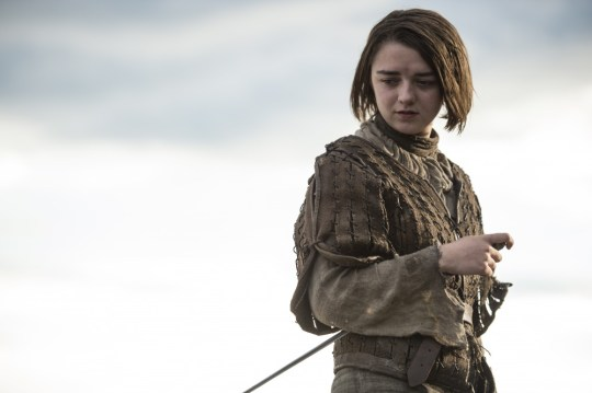 Is Arya facing the end? (Picture: HBO)